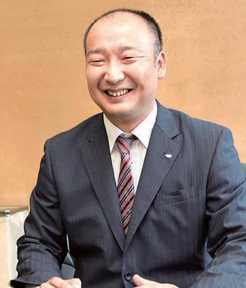 代表取締役社長 江守錬太郎